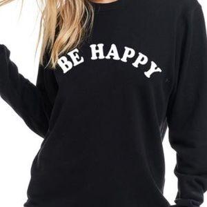 ✨NEW Be Happy Long Sleeve Sweatshirt S-5X Graphic